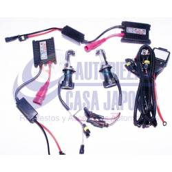 KIT Luces HID Xenon H13-1 9008 12V/35W 8000K