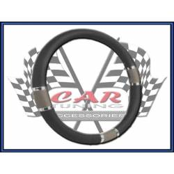 GR/BK Steering Wheel Cover